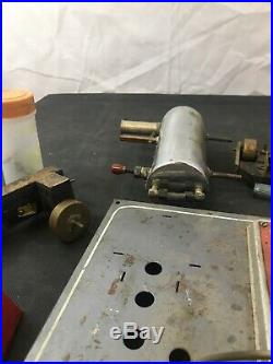 VINTAGE USED WILESCO GERMANY 1950'S LIVE STEAM ENGINE TOY Parts