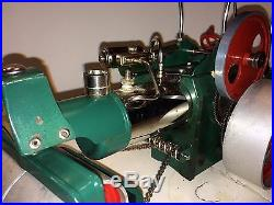 Vintage Wilesco Old Smokey W. German Steam Engine Steam Roller