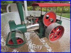 Vintage Wilesco Old Smokey W. German Steam Engine Steam Roller D36