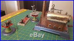 VINTAGE WILESCO West GERMANY TOY STEAM ENGINE