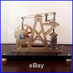 Vertical Cylinder Steam Engine Model Toy Reciprocate Steam Engine Generator Moto
