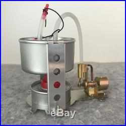 Vertical Cylinder Steam Engine Model Toy with Boiler Micro Marine Boat Car Motor