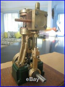 Vertical Model Steam Engine Live Steam