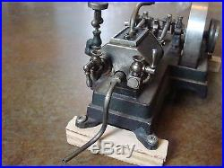 Vintage 1930's Doll & Co 365/1 Horizontal Dual Cylinder Model Steam Engine