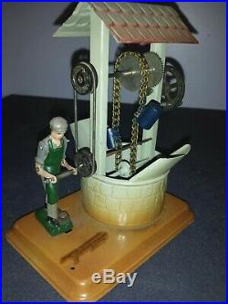 Vintage 1950s Fleischmann Well Western Germany Steam Engine Toy