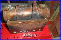 Vintage 1960's Mamod SE3 Twin Cylinder Steam Engine WithAttached Machine Shop NR
