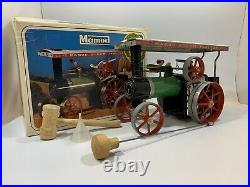 Vintage 1960's Mamod Traction Engine Steam Engine Tractor TE1A With original box