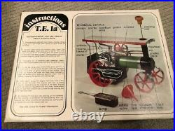 Vintage 1960's Mamod Traction Engine Steam Engine Tractor TE1A original box
