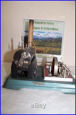 Vintage 1968 German Fleiischman Steam Engine, Complete, Untested