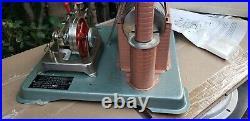 Vintage 1976 JENSEN MFG CO Steam Engine #75 with Original Box & Dry Fuel, Penzoil
