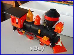 Vintage 1988Playmobil 4054 Pacific Railroad Western Train Steam Engine MINTY
