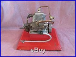 Vintage 2 Cylinder V-Steam Engine