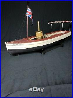 Vintage African Queen Billing River Boats Ship Midwest Live Steam Engine VI #980