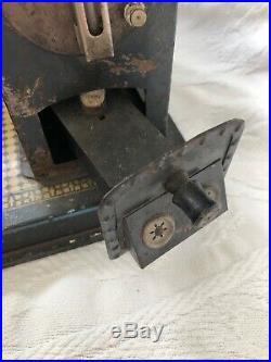 Vintage Antique E. P. German Steam Engine Toy Tile Floor ERNST PLANK