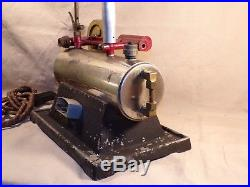 Vintage / Antique Ind-X Electric Toy Steam Engine