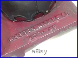 Vintage Antique Model No. 49 Weeden Live Steam Engine 1898