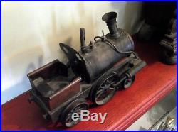 Vintage Antique Pre war Live Steam Engine Train Locomotive Schronner 1895