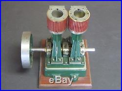 Vintage/Antique Steam Engine Model/Sample/ Hand Machined for Repair/Parts