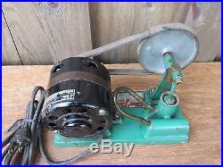 Vintage Antique Toy Stuart Turner Beam Steam Engine with Accessories