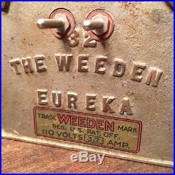 Vintage Antique Toy The Weeden Eureka 32 USA Steam Engine PRIORITY MAIL