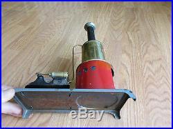 Vintage Antique Weeden Steam Engine Boiler 10 1/2 with Whistle (t)