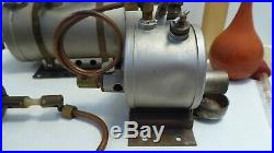 Vintage Aster Steam Engine Model Toy Hobby Motor Antique Metal Brass Train