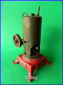 Vintage Australian Toy Upright Vertical Stationery Steam Engine Model 1900s