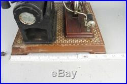 Vintage BING live steam engine, tin toy prewar for parts or restoration