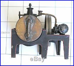 Vintage Bavard Toy Steam Engine, Family Item Last Used 1920's 2012