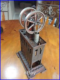 Vintage Bing Sterling Hot Air Engine Steam Engine Runs Well Good Condition