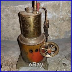 Vintage Buddy L or Weeden 1920's Rare Train Lantern Metal Toy Steam Engine