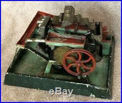 Vintage DC German Toy Steam Engine Water Wheel