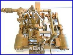 Vintage Double Twin Cylinder Large Model Live Steam Engine