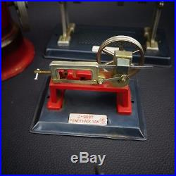 Vintage Electric AIROSOL Steam Engine Model 302 with 5 Line Mar Toys Accessories