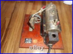 Vintage Electric JENSEN TOY Steam Engine Model Style #70