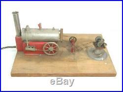 Vintage Electric Steam Engine Work Shop Grinder Model Toy