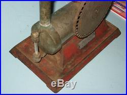 Vintage Empire Metalware B35 Turbine Toy Model Live Steam Engine Parts Repair