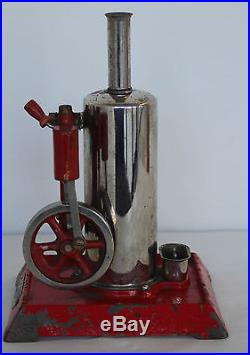 Vintage Empire Metalware Corp B 31 Upright Electric Toy Steam Engine
