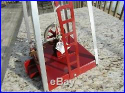 Vintage Empire Steam Engine Toy Windmill Metal Ware Co. Wis. Nos Near Mint