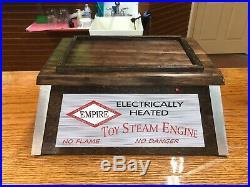 Vintage Empire toy steam engine weeden bing Jensen