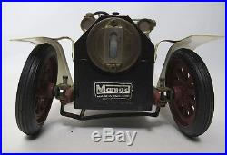 Vintage English Mamod Live Steam Engine Roadster Automobile Toy Model Car NR yqz