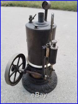Vintage Ernest Plank Ideal Vertical Steam Engine Model Toy