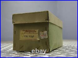 Vintage FLEISCHMANN W. GERMANY Steam Engine Single Cylinder Vertical Boiler TOY