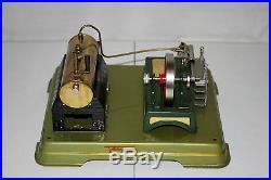 Vintage Fleischmann 122/2 Live Steam Engine With Original Box EX+ L@@K