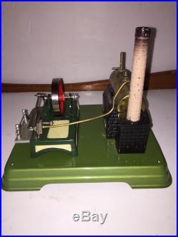 Vintage Fleischmann (Germany) Toy Steam Engine with Original Box. EUC