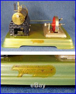 Vintage Fleischmann Steam Engine Boiler Toy 120-4 Germany with Box