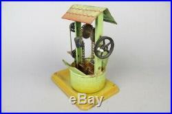 Vintage Fleischmann live steam engine accesory, pumping station, tin toy #1