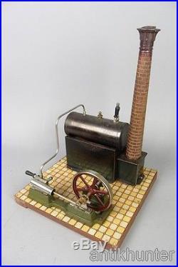 Vintage GBN Bing steam engine, pre war german tin toy