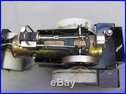 Vintage German Fleischmann Steam Engine Roller Large Size No. 504 Lovely Cond