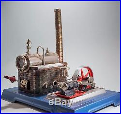 Vintage German Toy Steam Engine FULLY FUNCTIONAL